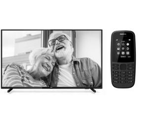 Zestaw na Dzień Babci i Dziadka Philips 43PFT5503 + Nokia 105