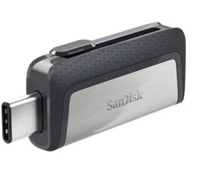 Pendrive SanDisk 128GB Ultra Dual USB Type-C 150MB/s