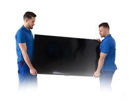 Wniesiemy i rozpakujemy Twój nowy telewizor. Nawet zabierzemy pusty karton