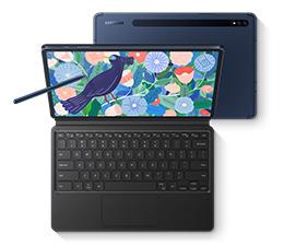 Nowość w ofercie - Samsung Galaxy Tab S7 i S7+ z dedykowaną klawiaturą gratis