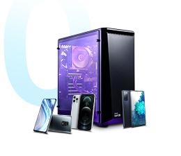 Skorzystaj z rat zero procent na desktopy x-kom i smartfony