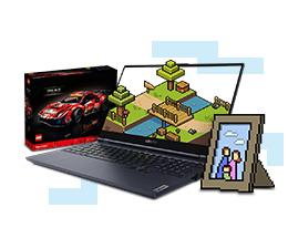 Rodzinny konkurs Minecraft czas zacząć. Do wygrania laptopy Lenovo Legion i klocki LEGO