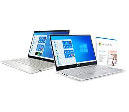 Kup wybranego laptopa i zyskaj Microsoft 360 Personal w prezencie