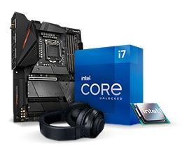 Wybierz procesor Intel Core i płytę Gigabyte. My dodamy słuchawki