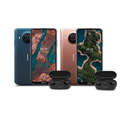 Kup smartfon Nokia X20, odbierz w prezencie słuchawki TWS
