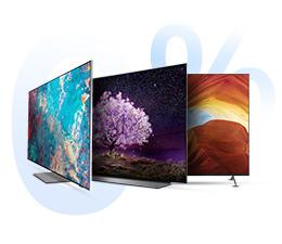 Duży ekran, mała rata. Kup telewizor w ratach 0% i zacznij spłacać za 6 miesięcy