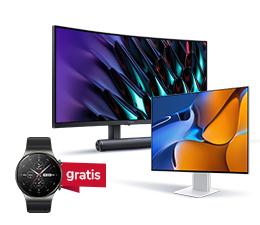 Nowość w x-kom – Monitory Huawei w przedsprzedaży taniej i z prezentem
