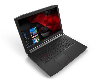Acer Helios 300 i7-7700HQ/16G/256+1000/Win10 GTX1060-374189 - Zdjęcie 2