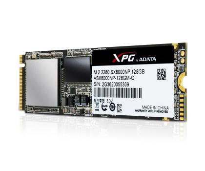 ADATA 128GB M.2 PCIe NVMe XPG SX8000-346152 - Zdjęcie 3