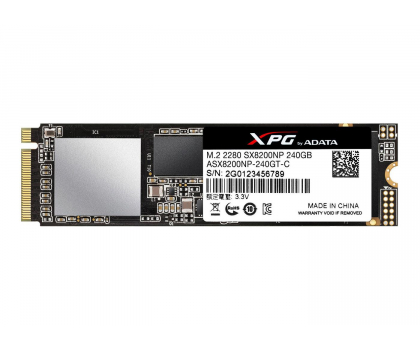 ADATA 240GB M.2 PCIe XPG SX8200-421186 - Zdjęcie 2
