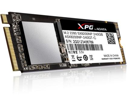 ADATA 240GB M.2 PCIe XPG SX8200-421186 - Zdjęcie 3