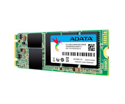 ADATA 256GB SATA SSD Ultimate SU800 M.2 2280-340495 - Zdjęcie 3