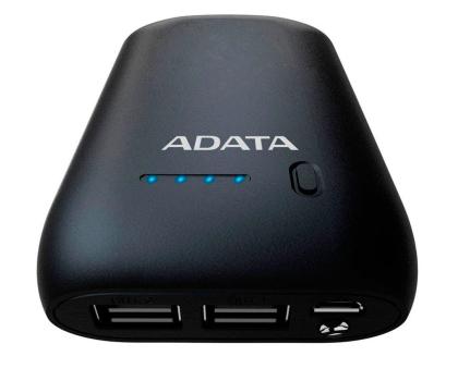 ADATA Power Bank P10050 10050 mAh 2.1 A czarny-427671 - Zdjęcie 2