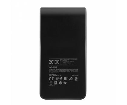 ADATA Power Bank P20100 20100 mAh 2.1 A czarno-czerwony-426257 - Zdjęcie 5