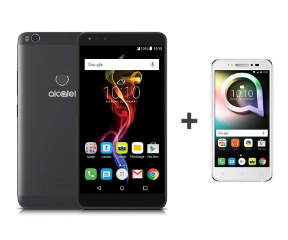Alcatel Pop 4 (6) LTE czarny+ Shine Lite biały -383553 - Zdjęcie 1