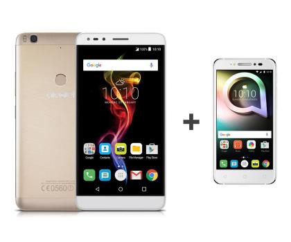 Alcatel Pop 4 (6) LTE złoty+ Shine Lite biały -383556 - Zdjęcie 1