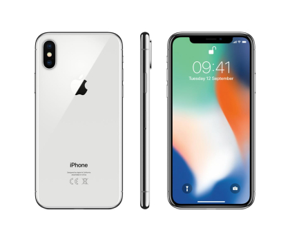 Apple iPhone X 64GB Silver -395951 - Zdjęcie 1