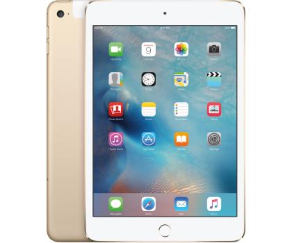 Apple NEW iPad mini 4 128GB + modem Gold-259896 - Zdjęcie 1
