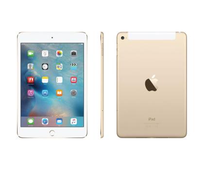 Apple NEW iPad mini 4 128GB + modem Gold-259896 - Zdjęcie 3