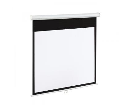 ART Ekran elektryczny 120' 244x183 4:3 Biały Matowy-336423 - Zdjęcie 1