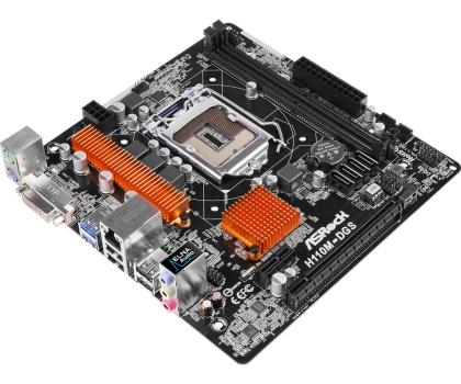 ASRock H110M-DGS (H110 PCI-E DDR4)-281089 - Zdjęcie 2