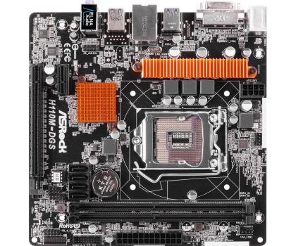 ASRock H110M-DGS (H110 PCI-E DDR4)-281089 - Zdjęcie 4