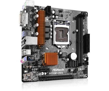 ASRock H110M-DGS (PCI-E DDR4)-281089 - Zdjęcie 3