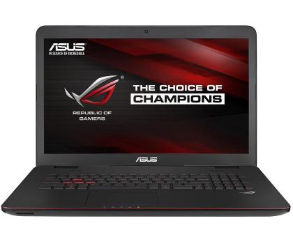 ASUS G771JW-T7051D i7-4720HQ/8GB/750GB/DVD-RW GTX960-235998 - Zdjęcie 2