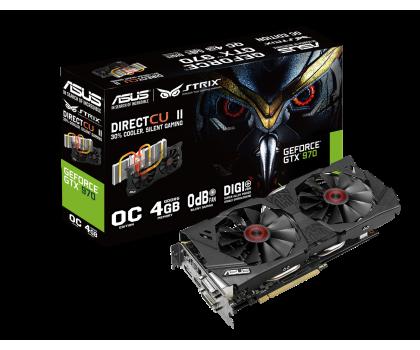 ASUS GeForce GTX 970 4096MB 256bit DirectCu II Strix OC-208786 - Zdjęcie 1