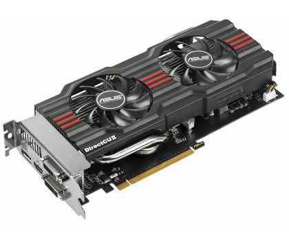 ASUS GeForce GTX660 2048MB 192bit DirectCu II OC-106132 - Zdjęcie 1