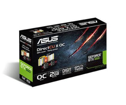 ASUS GeForce GTX660 2048MB 192bit DirectCu II OC-106132 - Zdjęcie 4