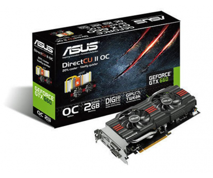 ASUS GeForce GTX660 2048MB 192bit DirectCu II OC-106132 - Zdjęcie 5