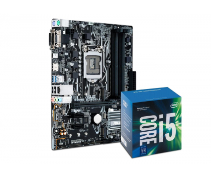 ASUS PRIME B250M-A + i5-7400-391566 - Zdjęcie 1