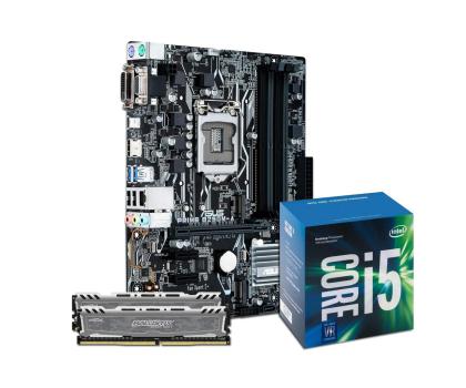 ASUS PRIME B250M-A + i5-7400 + Crucial 16GB 2400MHz-391542 - Zdjęcie 1