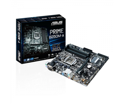 ASUS PRIME B250M-A + Intel G4600 + Crucial 8GB 2400MHz-391547 - Zdjęcie 2