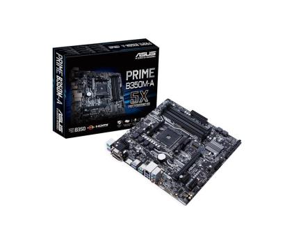 ASUS PRIME B350M-A + Ryzen 5 1600 + Crucial 8GB 2400MHz-391655 - Zdjęcie 2