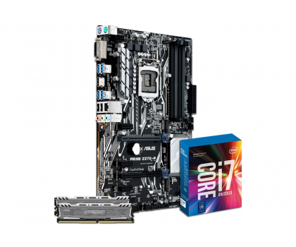 ASUS PRIME Z270-P + i7-7700K + Crucial 16GB 2400MHz-391538 - Zdjęcie 1