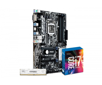 ASUS PRIME Z270-P + i7-7700K + Crucial 8GB 2400MHz-391541 - Zdjęcie 1