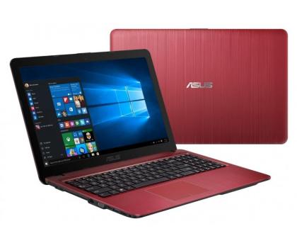 ASUS R540LJ-XX338T i3-5005U/4GB/1TB/Win10X czerwony -352741 - Zdjęcie 1