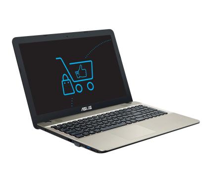 ASUS R541UA-DM1404D i3-7100U/4GB/256SSD/DVD-358627 - Zdjęcie 1