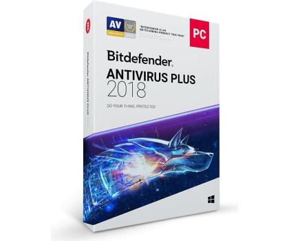 Bitdefender Antivirus Plus 2018 10st. (12m.) -383764 - Zdjęcie 1