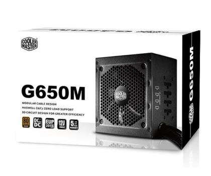 Cooler Master G650M 650W BOX-175480 - Zdjęcie 5