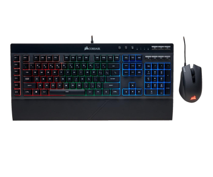 Corsair K55 Gaming Keyboard & Harpoon Mouse Combo (RGB)-393181 - Zdjęcie 1