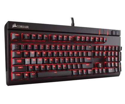Corsair STRAFE (Cherry MX Red, Red LED)-321220 - Zdjęcie 3