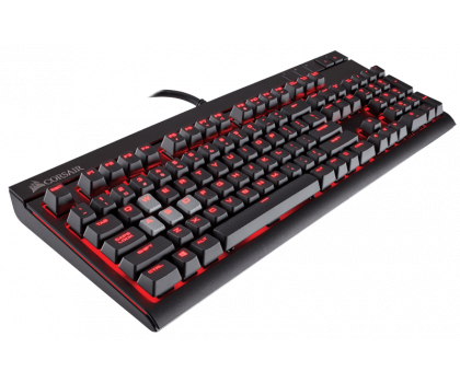 Corsair STRAFE (Cherry MX Red, Red LED)-321220 - Zdjęcie 2