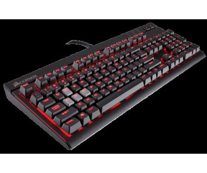 Corsair STRAFE (Cherry MX Silent, Red LED)-444625 - Zdjęcie 2