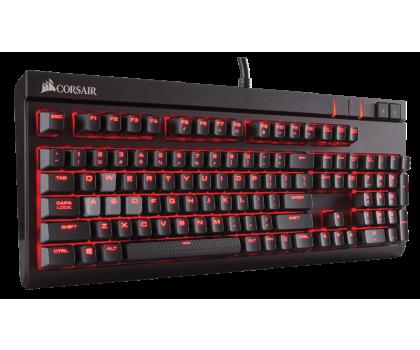 Corsair STRAFE (Cherry MX Silent, Red LED)-444625 - Zdjęcie 4
