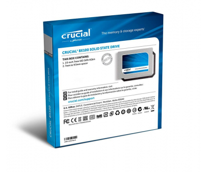 Crucial 120GB 2,5'' SATA SSD BX100 7mm-223284 - Zdjęcie 4