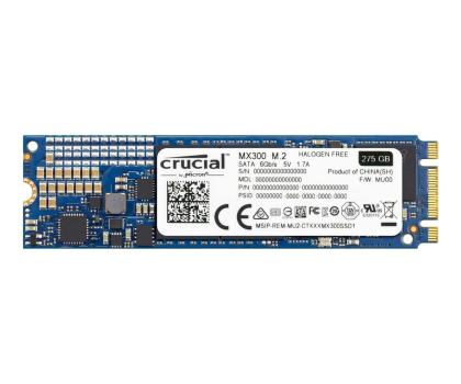 Crucial 275GB SATA SSD MX300 M.2 2280-316772 - Zdjęcie 1