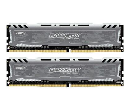 Crucial 8GB 2666MHz Ballistix Sport Grey CL16 (2x4GB)-430178 - Zdjęcie 1
